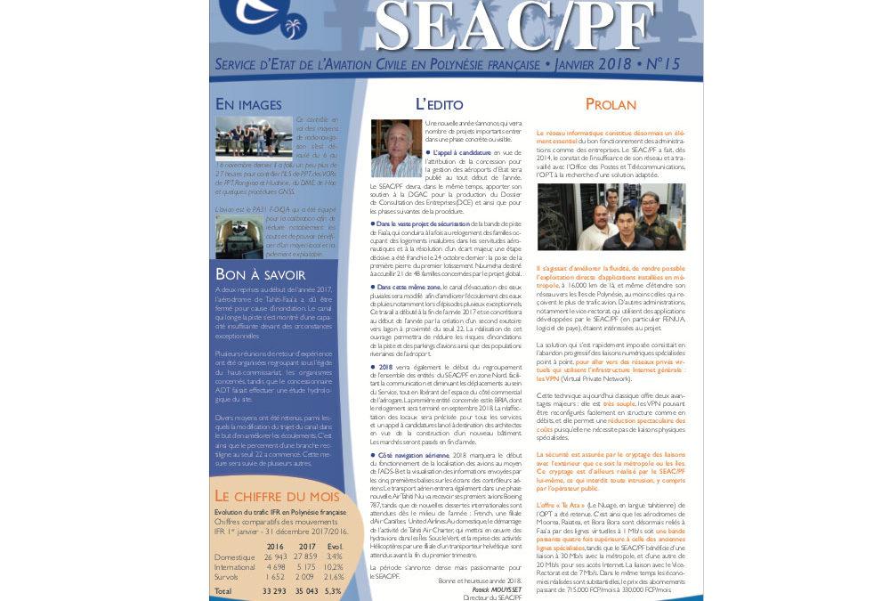 La Lettre du SEAC n°15